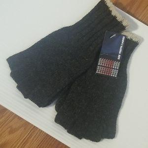 Ragg wool gloves